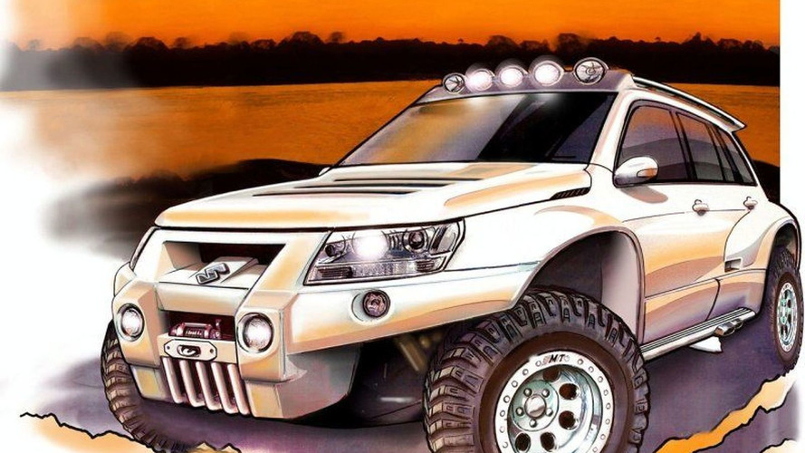 Suzuki Grand Vitara Bandit for Surfers