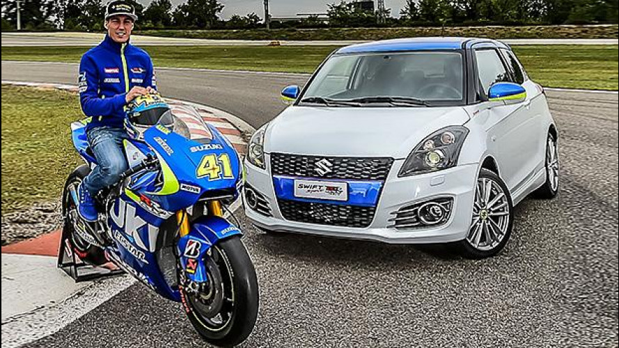 Suzuki Swift Sport GSX-RR Tribute, anima da MotoGP [VIDEO]