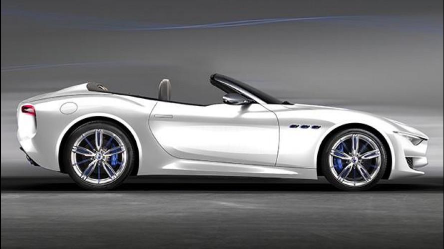 Maserati Alfieri Cabrio, ecco come sarà (secondo noi)