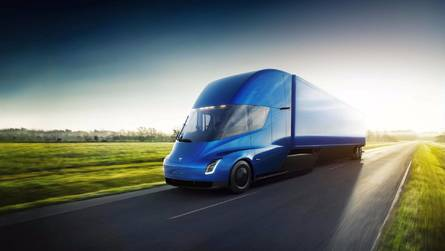 Tesla Semi Goes 0-60 in 5 Seconds, Does 500 Miles At Highway Speed