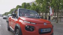 A Parigi cone la Citroen E-Mehari