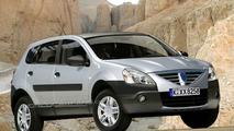 Artist impression: Dacia Logan SUV