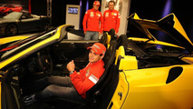 16M F430 Scuderia spider with Massa, Räikkönen and Montezemolo