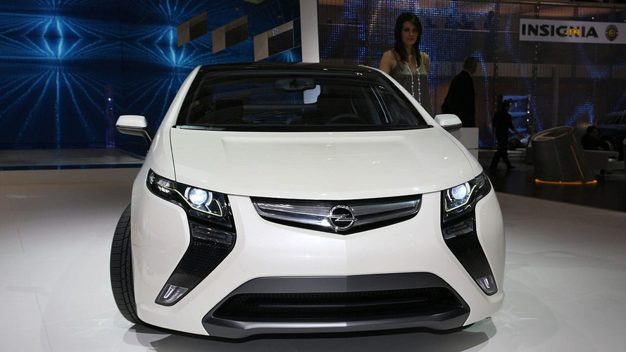 Opel Ampera priced from €42,900