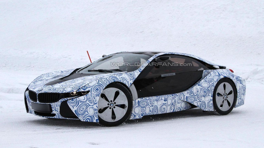 2014 BMW i8 to feature three-cylinder petrol engine