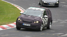 Chevrolet Aveo spy photo at Nurburgring