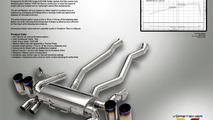 Vorsteiner full titanium exhaust system for BMW M3