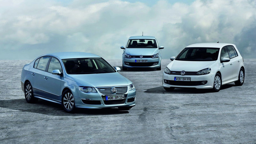 VW BlueMotion Polo, Golf and Passat Production Versions Debut in Frankfurt