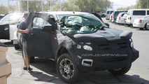 2012 Ford Ranger spied testing in Death Valley