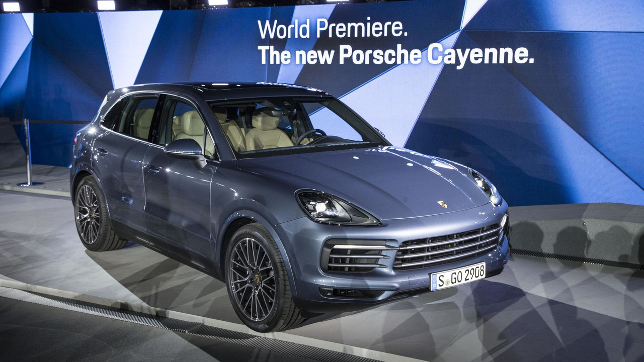 Porsche Gives Us The Lowdown On 2019 Cayenne S Design