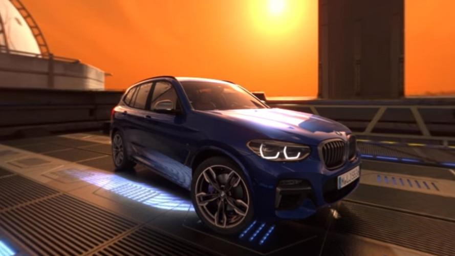 El BMW X3 2018 te lleva de visita virtual por Marte