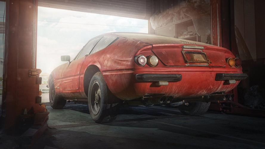El Ferrari Daytona Alloy de 1969, descubierto en Japón, ya tiene precio