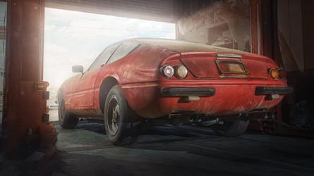 Un Ferrari Daytona Alloy único, de 1969, descubierto en Japón