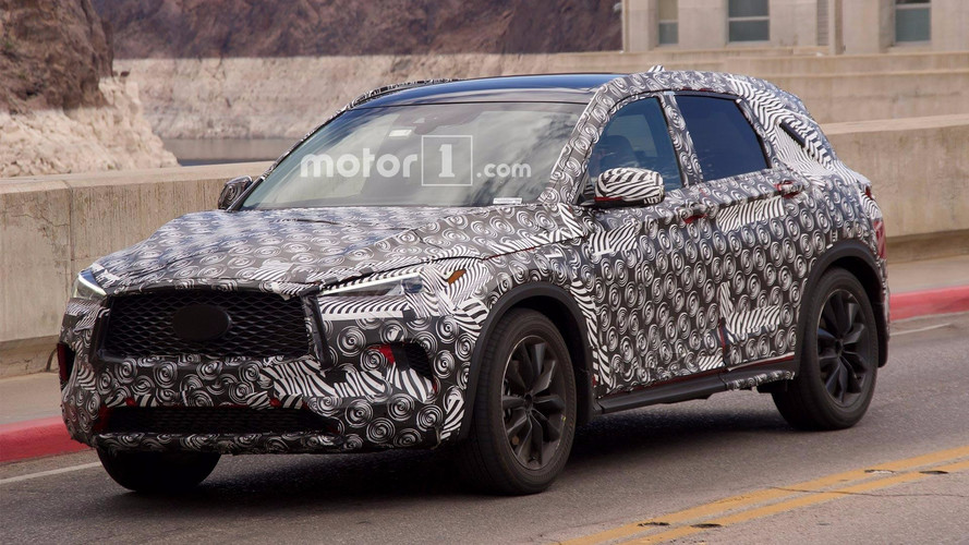 Next-gen Infiniti QX50 Spied Testing On Hoover Dam