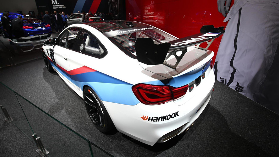BMW Reveals M8 GTE Racing Car