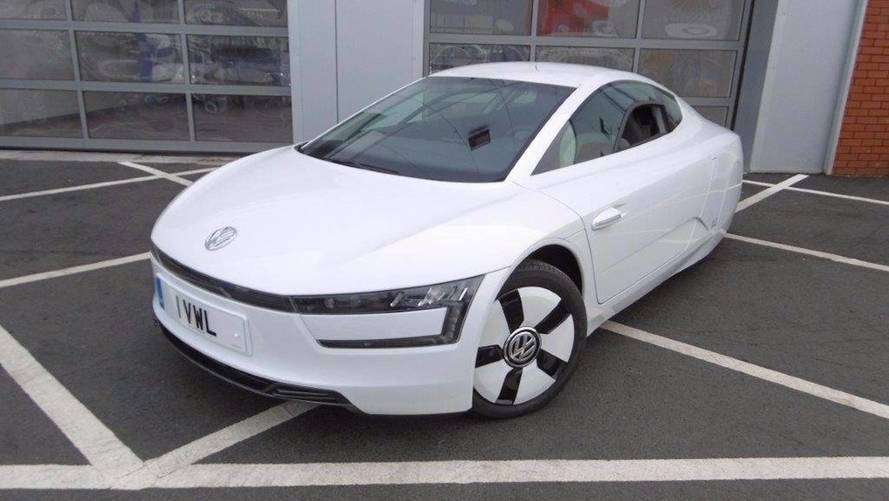 L'un des 250 exemplaires de la Volkswagen XL1 est à vendre