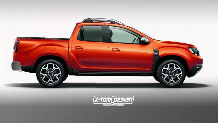 dacia duster 2018 cuatro renders que podr an hacerse realidad. Black Bedroom Furniture Sets. Home Design Ideas
