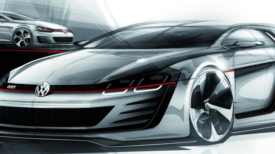 Volkswagen previews 503 HP Design Vision GTI ahead of Worthersee debut