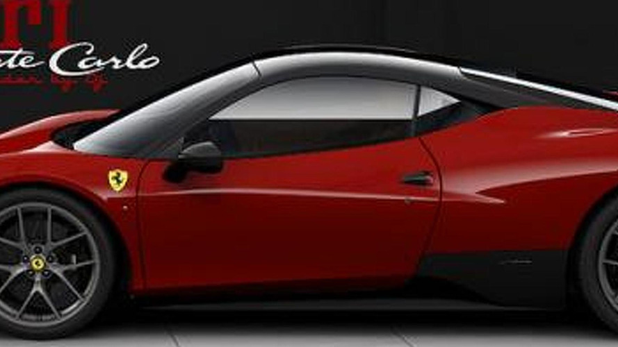 Ferrari 458 Monte Carlo available on order - report