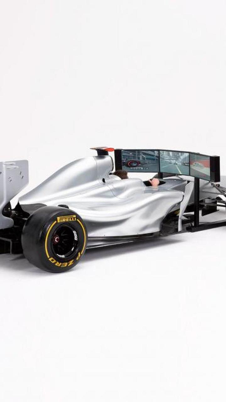 F1 simulator 20.05.2013