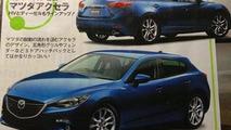 2014 Mazda3 leaked?