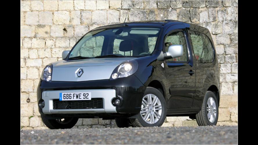 Renault Kangoo be bop: Ein Fun-Fahrzeug zum Auffallen