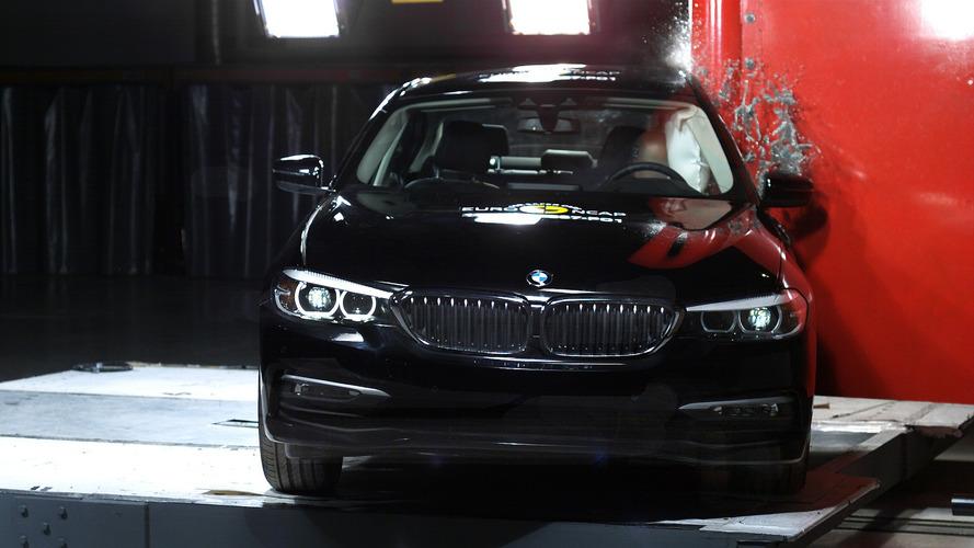 BMW Série 5 2017 Euro NCAP