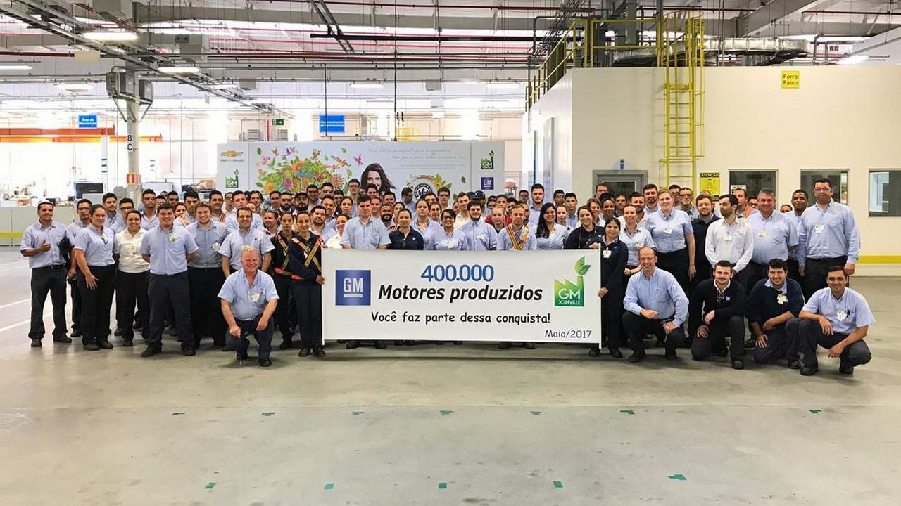 GM fabrica de motores