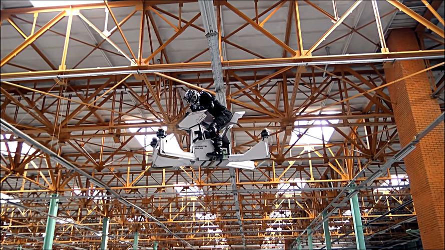 Scorpion Uçan Motosiklet