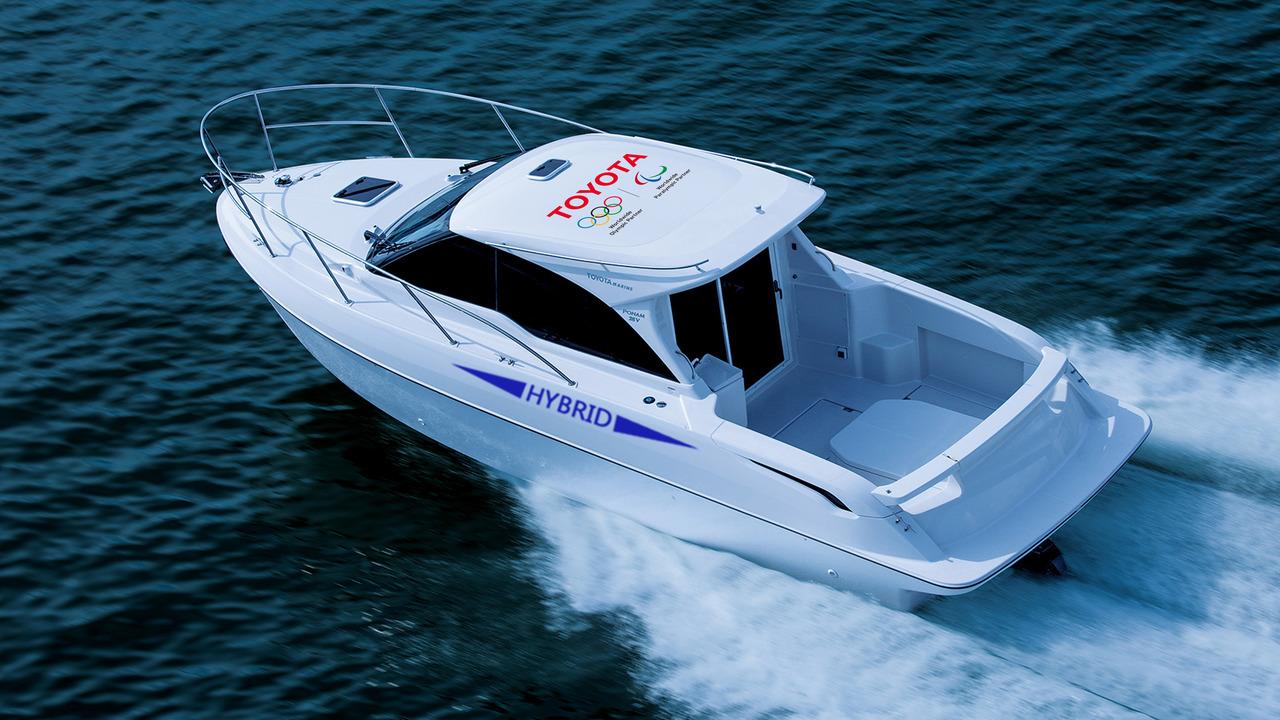 bateau hybride Toyota