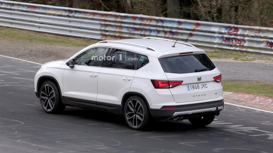 SEAT Ateca CUPRA 2018 cazado en Nürburgring