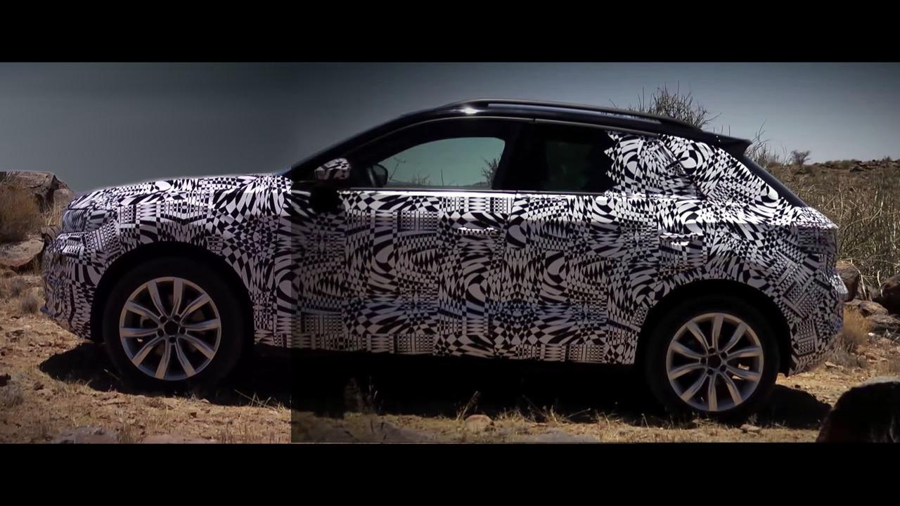 Volkswagen T-Roc 2018 camuflado