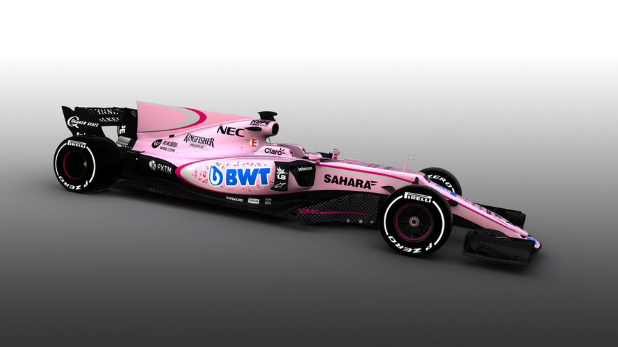 F1 2017: Force India reveals new pink colour scheme