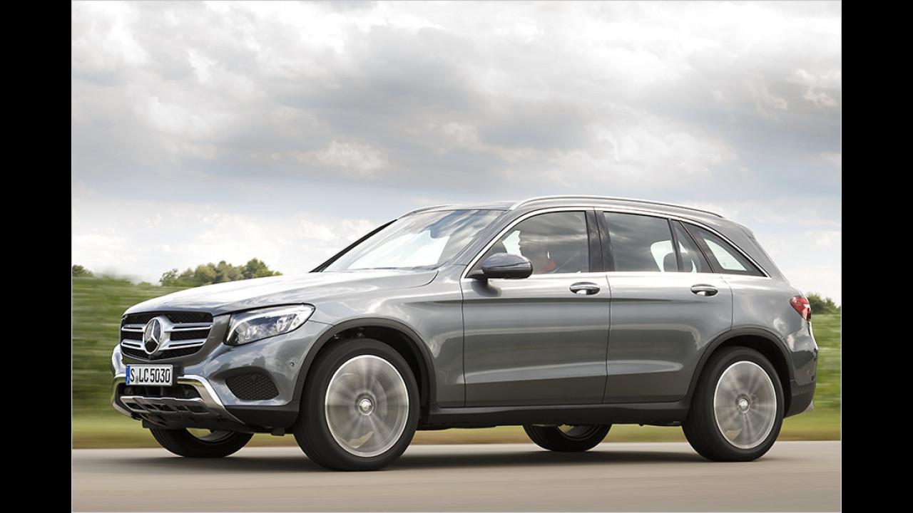 Konkurrenz: Mercedes GLC