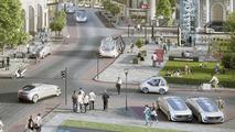 Mercedes Autonomous Taxi