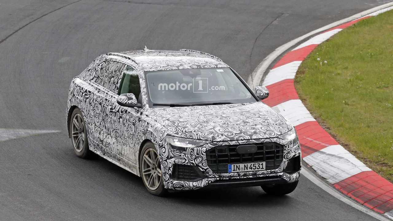2019 Audi Q8 casus fotoğrafları - Nürburgring