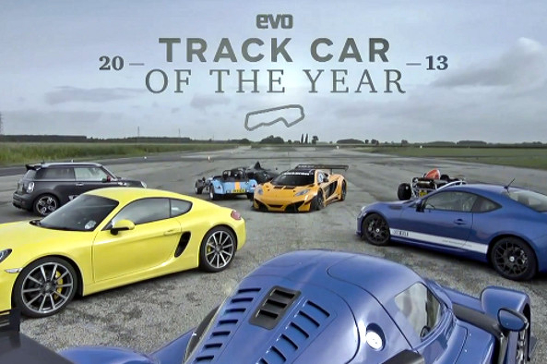 EVO Magazine Names 2013 Track Car of the Year [video]