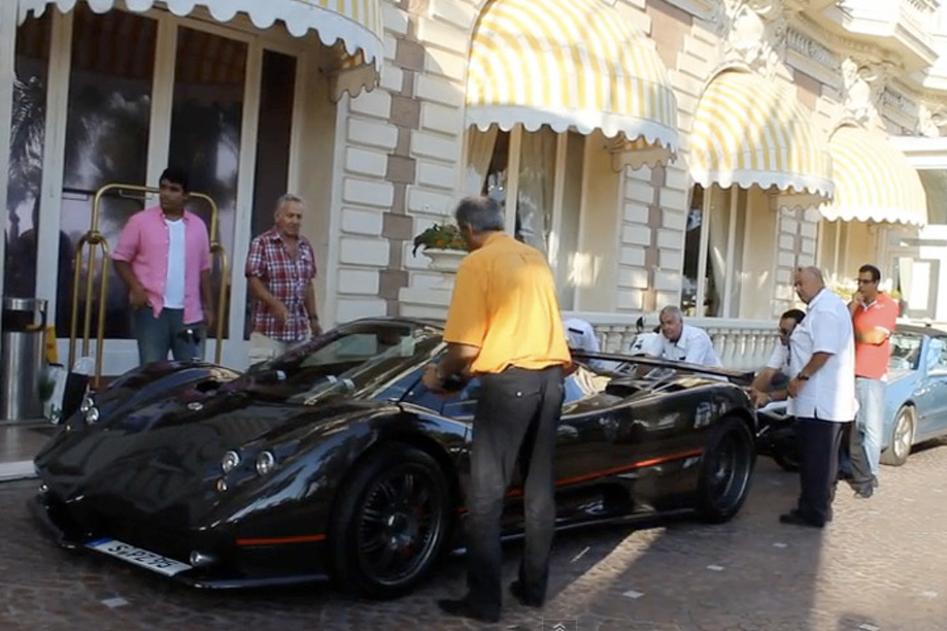 Pagani Zonda Owner: 'Can I get a Push?' [Video]