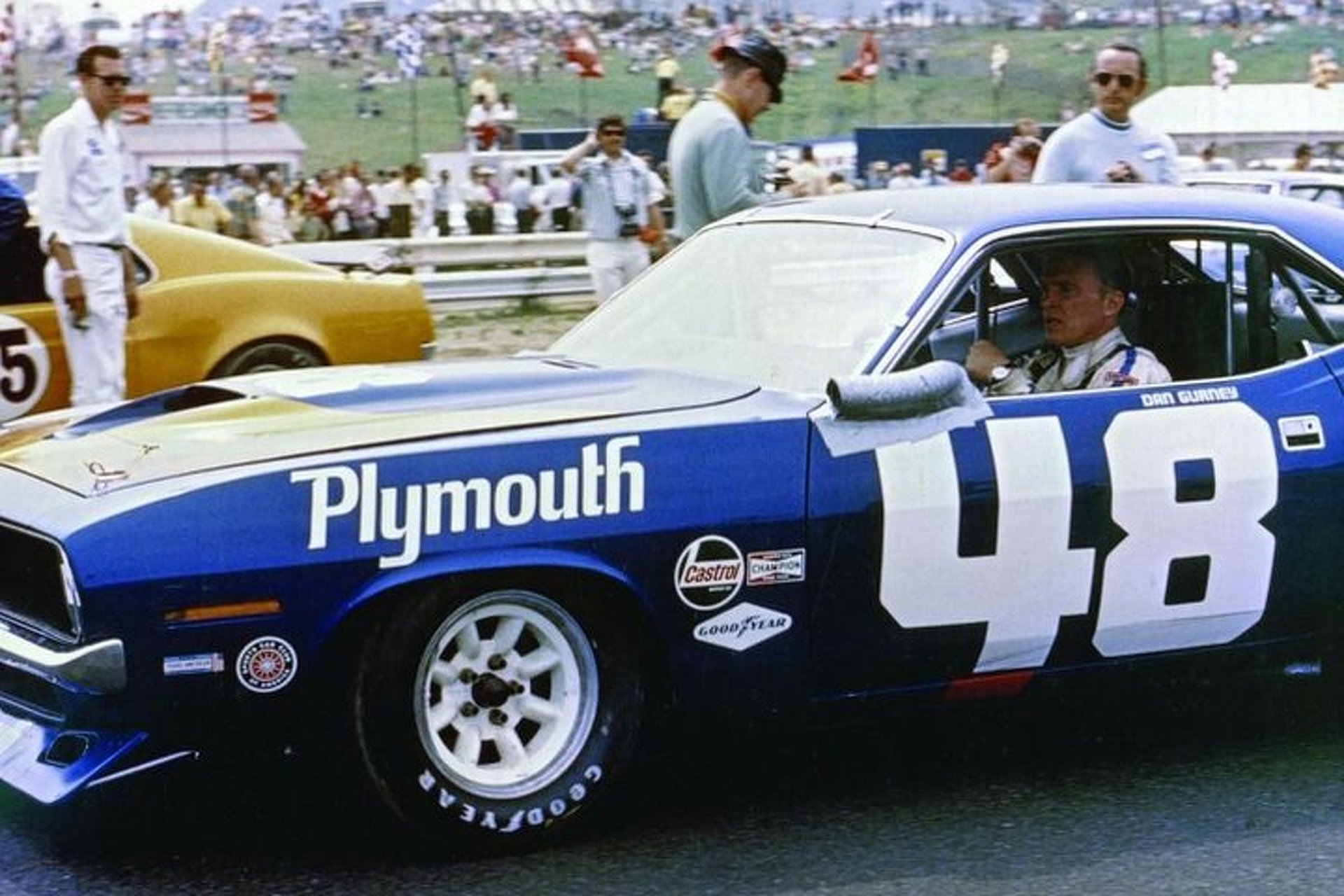 All American Racing Plymouth 'Cuda is a 6-Pack of Patriotism