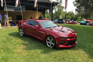 2016 Chevy Camaro SS Caught Out in the Wild