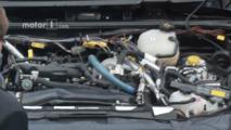 2018 Jeep Wrangler four-cylinder Hurricane engine spied