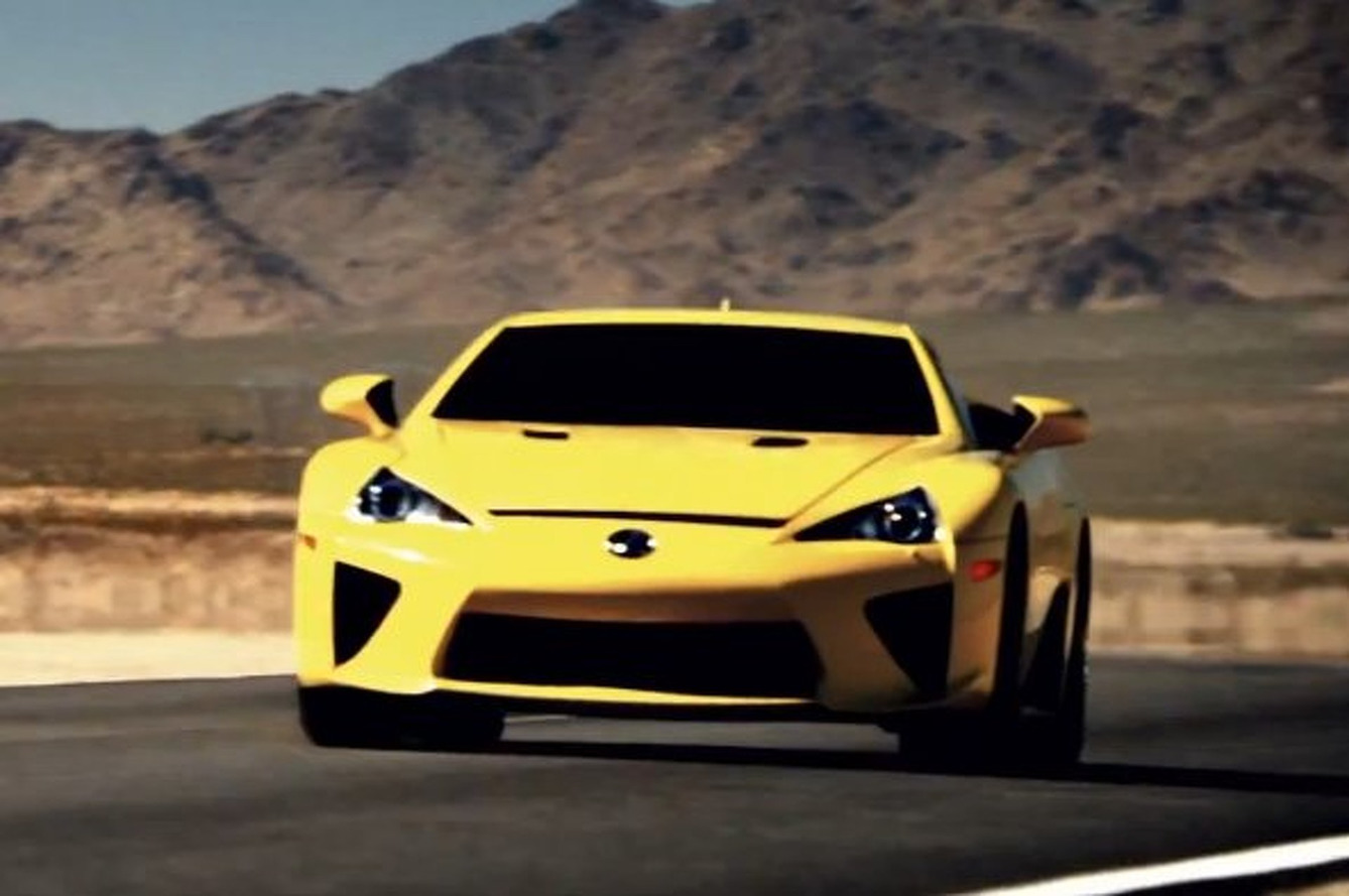 Lexus Honors LFA in Goosebump-Inducing Tribute [video]