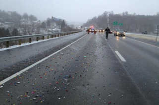 LEGO Spill Shuts Down West Virginia Highway