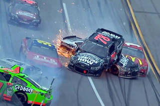 Video: 'The Big One' Strikes Again at Talladega