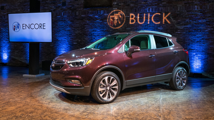 2020 buick encore spied for the very first time. Black Bedroom Furniture Sets. Home Design Ideas