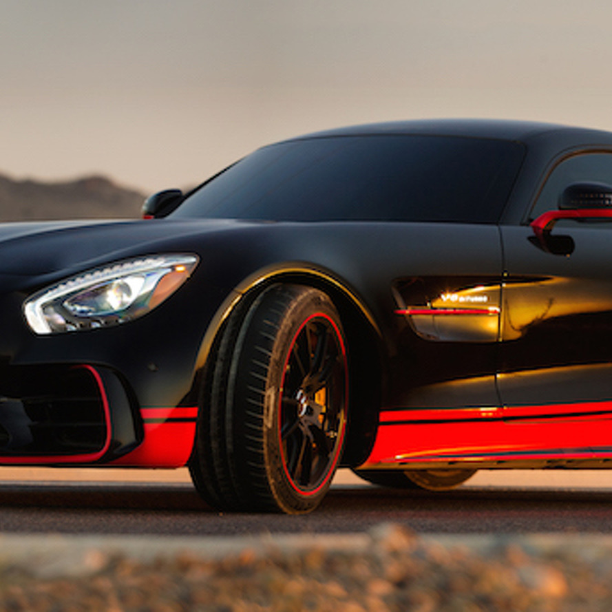 Mercedes-AMG GT R Gears up for Duty in 'Transformers: The Last Knight'