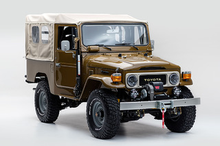 This Vintage '81 Toyota Land Cruiser is Perfectly Wild