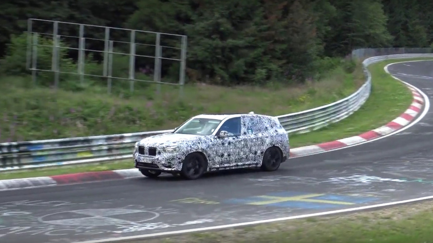 VIDEO - Le futur BMW X3 M surpris sur le Nürburgring