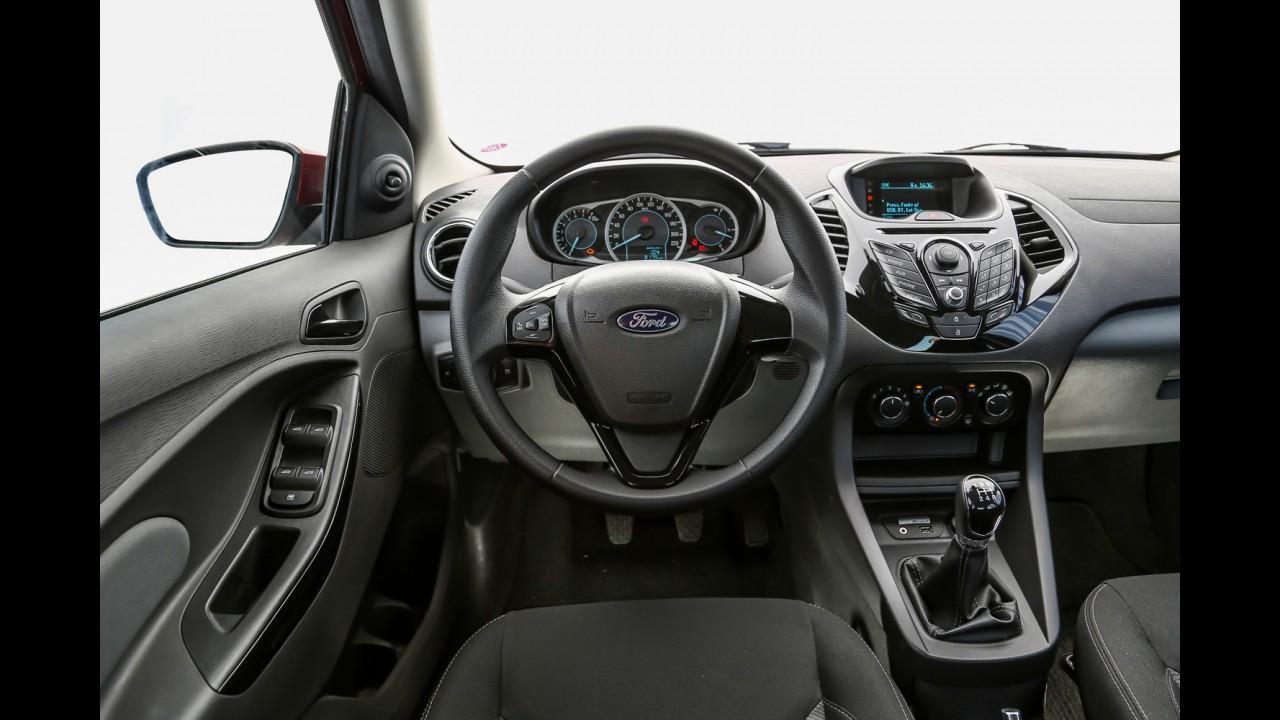 Ford Ka+ chega às lojas e parte de R$ 37.890 - veja preços e versões