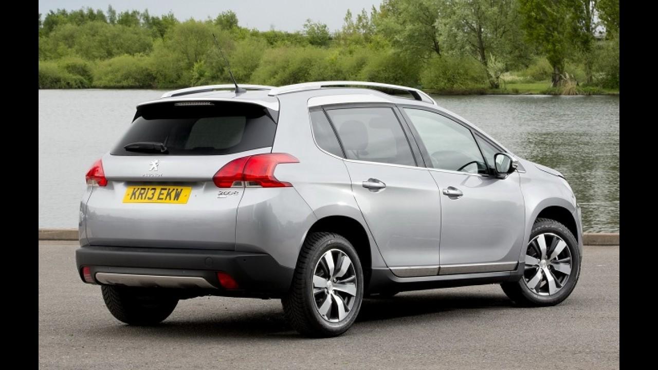 """Futuro brasileiro, Peugeot 2008 é eleito """"Veículo Compacto 2014"""" na Irlanda"""